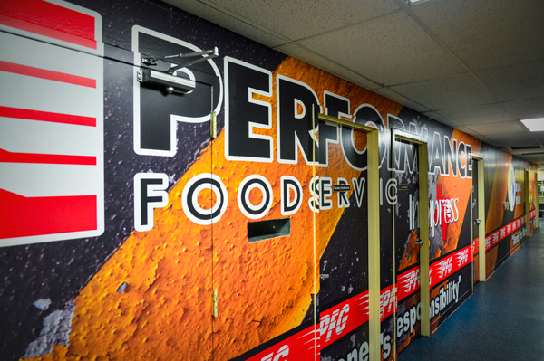 Print-It Belton | Performance Foodservice Wall Mural