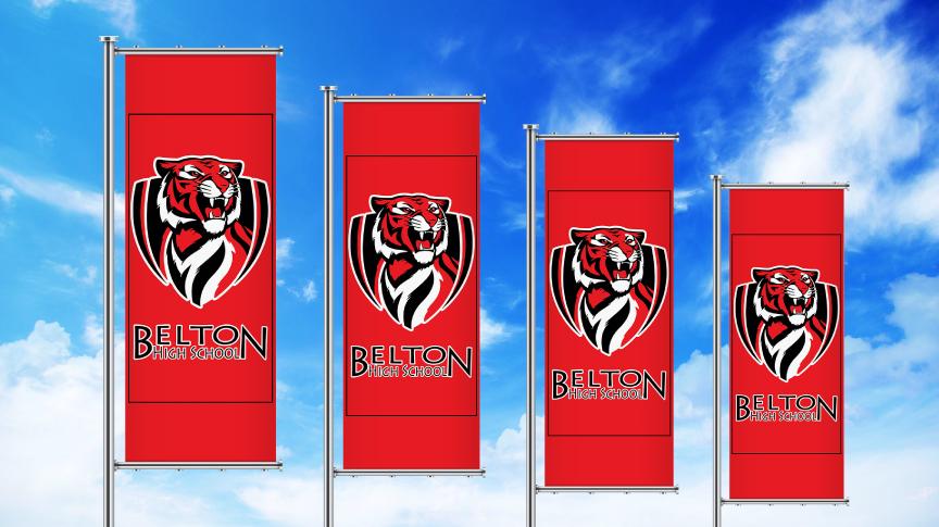 Outdoor Pole Banners Print It Belton Texas